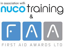 Associated with nuco training and First Aid Awards LTD
